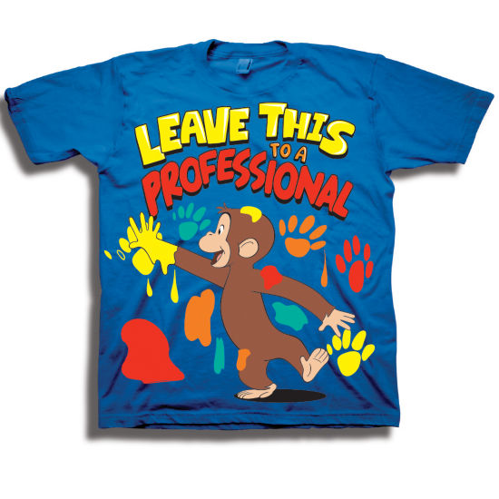Toddler Boys Graphic Tees Curious George Graphic T-Shirt-Toddler Boys