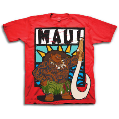 Moana Graphic T-Shirt-Toddler Boys