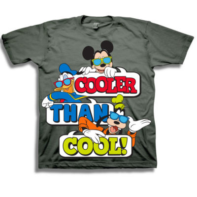 Disney Toddler Boys Graphic Tees Boys Crew Neck Short Sleeve Mickey Mouse Graphic T-Shirt-Toddler