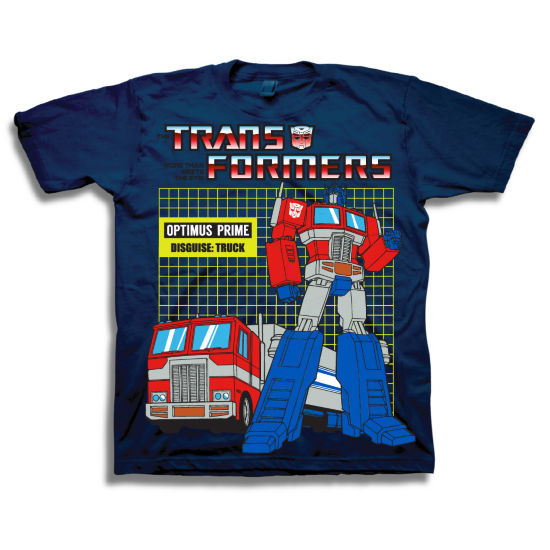 Toddler Boys Graphic Tees Transformers Graphic T-Shirt-Toddler Boys