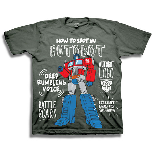 e2be7b7bc Toddler Boys Graphic Tees Boys Crew Neck Short Sleeve Transformers Graphic  T-Shirt-Toddler - JCPenney