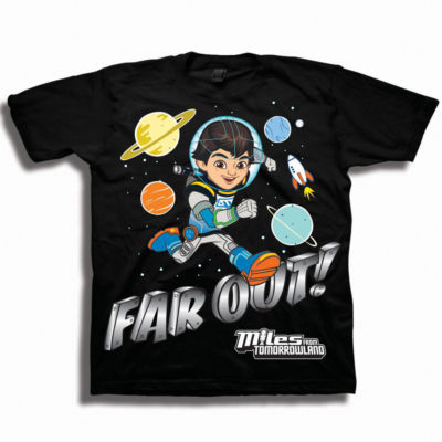 Toddler Boys Graphic Tees Miles Graphic T-Shirt-Toddler Boys