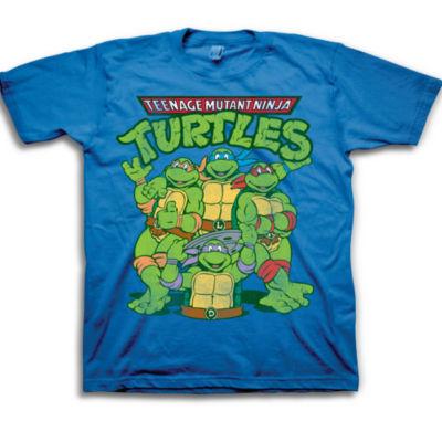 Toddler Boys Graphic Tees Teenage Mutant Ninja Turtles Graphic T-Shirt-Toddler Boys