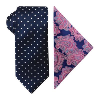 Steve Harvey Dots Tie Set