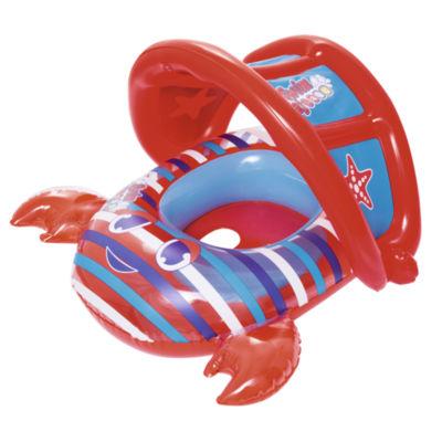 Bestway - Bestway - SWIM SAFE Crab Baby Boat- Red