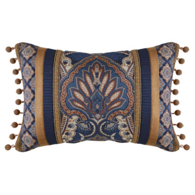 Croscill Classics Aurelio 19x13 Boudoir Throw Pillow