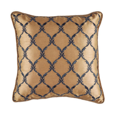 Croscill Classics Aurelio 16x16 Square Throw Pillow