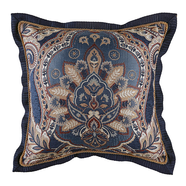 Croscill Classics Aurelio 18x18 Square Throw Pillow
