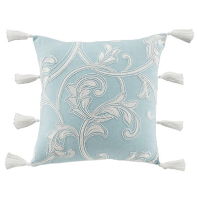 Croscill Classics Willa 18x18 Square Throw Pillow
