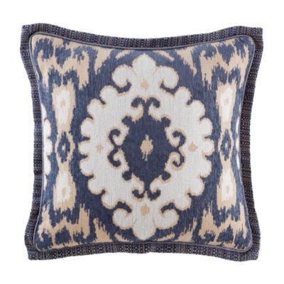Croscill Classics Kayden 18x18 Square Throw Pillow