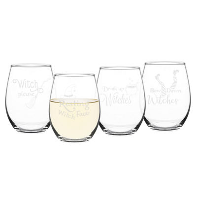 Cathy's Concepts 4-pc. Wine Glass