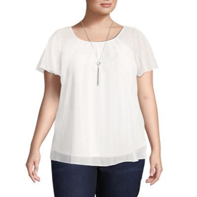 Alyx Short Sleeve Round Neck T-Shirt - Plus