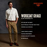 Dockers® Men's Slim Fit Workday Khaki Smart 360 Flex® Pants D1