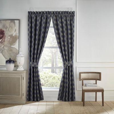 Croscill Classics Finnegan Rod-Pocket Curtain Panels