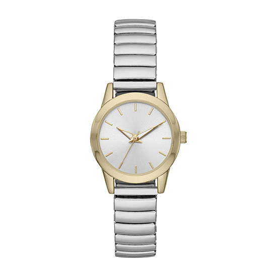 Opp Table Womens Gold Tone Expansion Watch-Fmdjo153