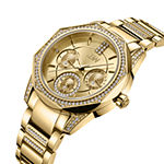 JBW 18K Gold Over Stainless Steel Genuine Diamond ACCENT Bracelet Watch-J6369a