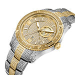 JBW 18K Gold Over Stainless Steel 1 CT. T.W. Genuine Diamond Bracelet Watch-J6370d