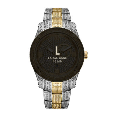 JBW 100 Diamonds/ 1.00 Ctw Mens Two Tone Bracelet Watch-J6370d
