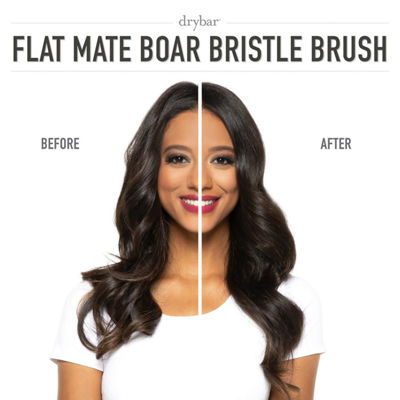 Drybar Flat Mate Boar Bristle Brush