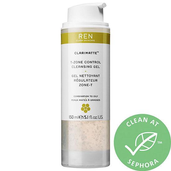 REN Clean Skincare Clarimatte™ T-Zone Control Cleansing Gel