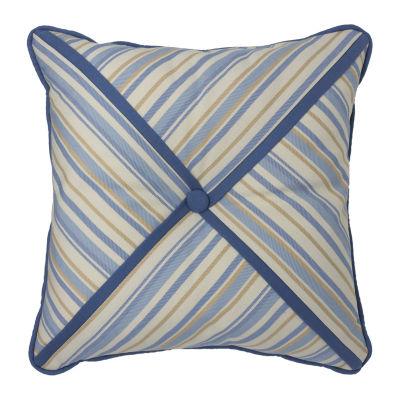 Croscill Classics Janine 16x16 Square Throw Pillow