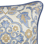 Croscill Classics Janine Square Throw Pillow