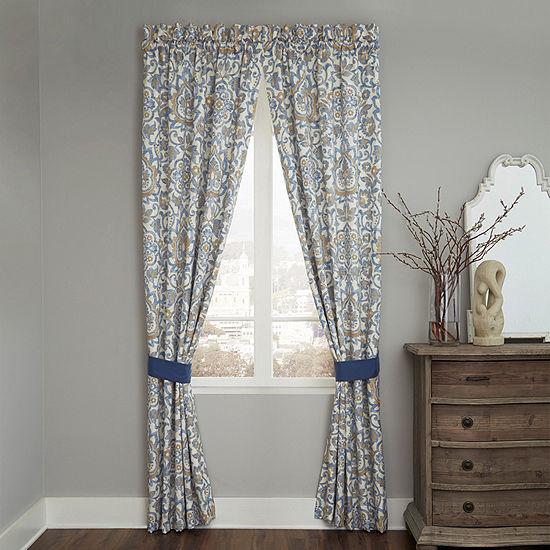 Croscill Classics Janine Rod Pocket Curtain Panel