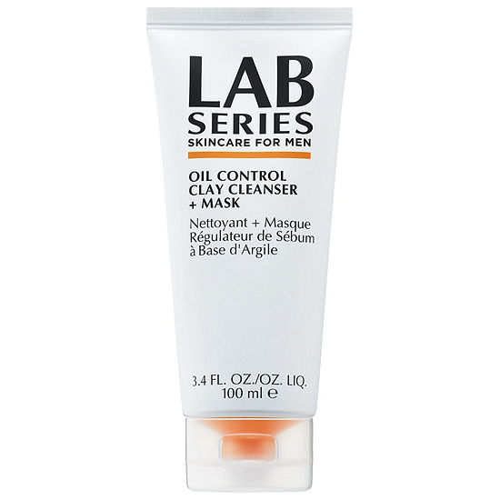 Lab Series For Men Oil Control Clay Cleanser + Mask