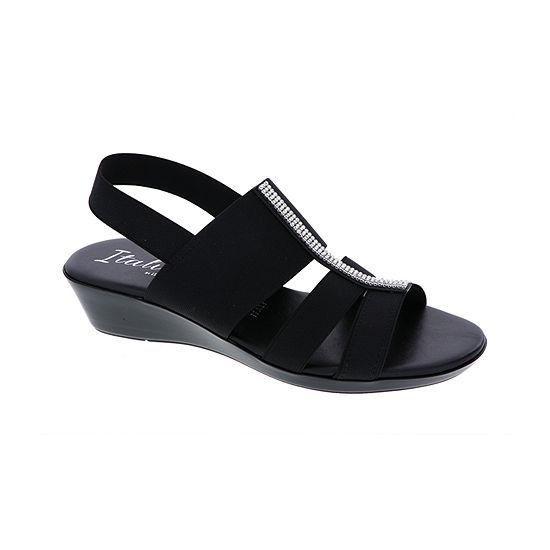 Womens Italian By Shoemakers Sandals Lysset Italiana Wedge 76YbvgIfy