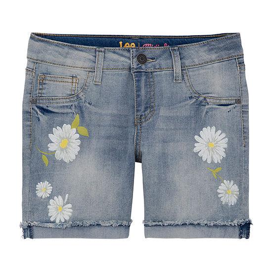 Lee Spring 19 Shorts Girls Mid Rise Midi Short-Preschool