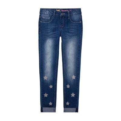 Lee Girls Mid Rise Skinny Fit Jean