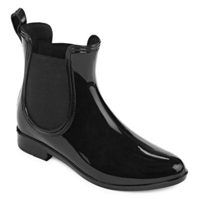 Arizona Womens Luppo Flat Heel Slip-on Booties