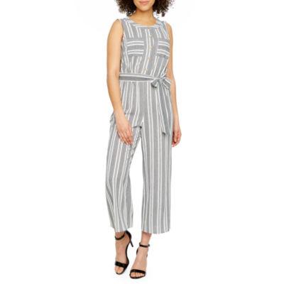 Alyx Sleeveless Striped Jumpsuit