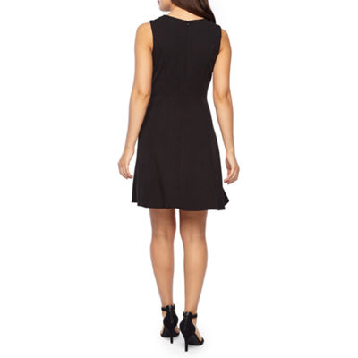 Alyx Sleeveless Fit & Flare Dress-Petite