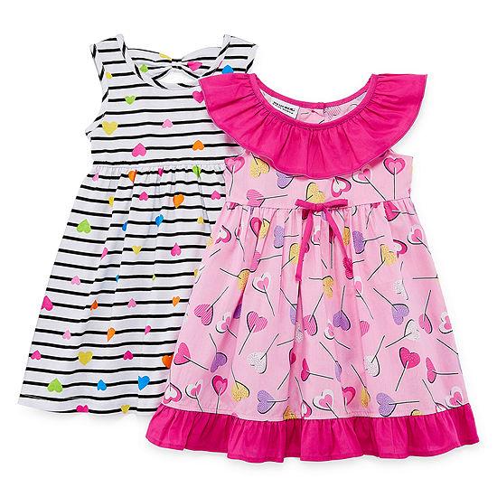 281936ab Blueberi Boulevard Sleeveless Dress Set- Toddler Girls - JCPenney
