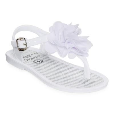 Stepping Stones Flower Sandals Infant- Girls