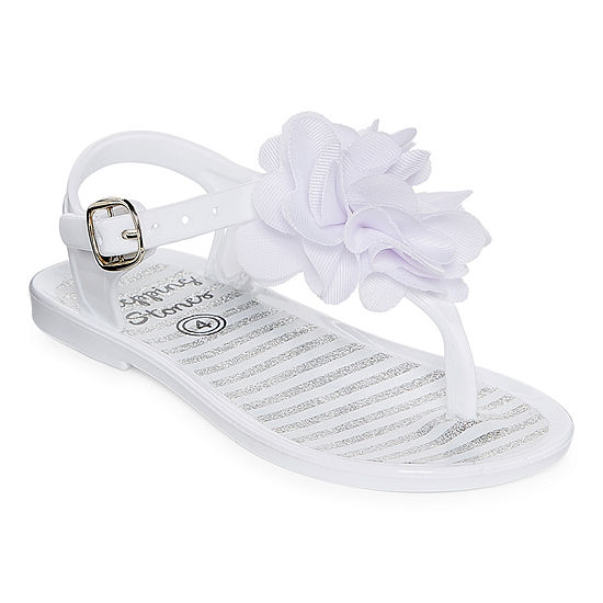 Stepping Stone Jelly Girls Strap Sandals