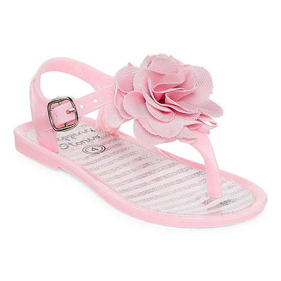Okie Dokie Jelly Girls Strap Sandals