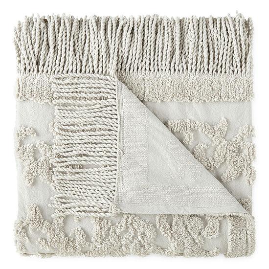 Madison Park Chloe 50x60 Cotton Ultra Soft Throw