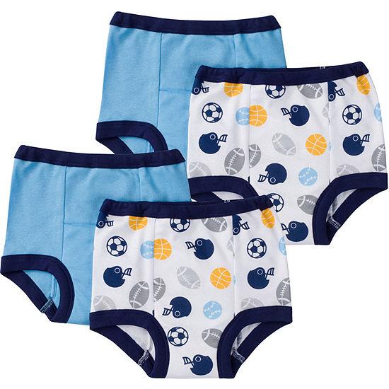 Gerber 4 Pair Potty Training Pants Boys