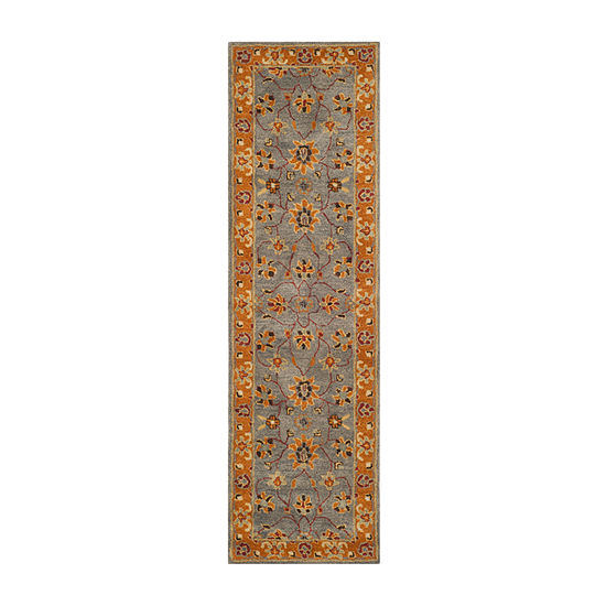 Safavieh Heritage Collection Vithya Oriental Runner Rug