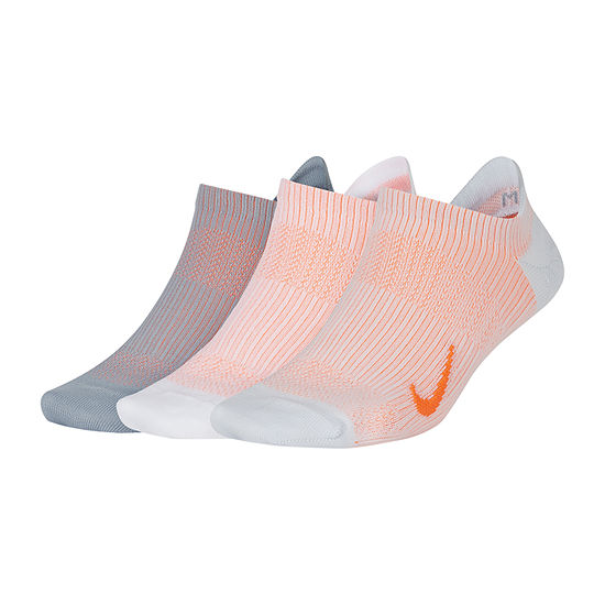 Nike 3 Pair No Show Socks Womens