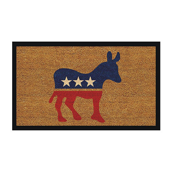 Calloway Mills Donkey Rectangular Outdoor Doormat