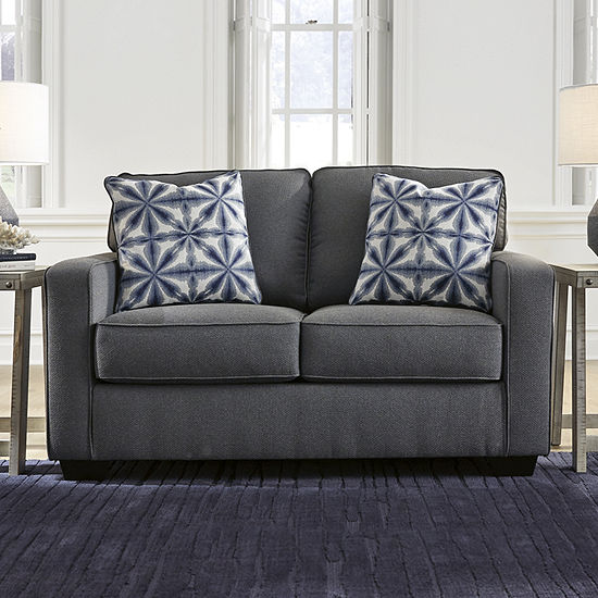 Signature Design by Ashley Kirkville Collection Track-Arm Loveseat