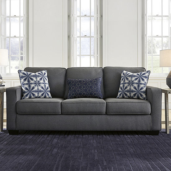 Signature Design by Ashley Kirkville Collection Track-Arm Sofa