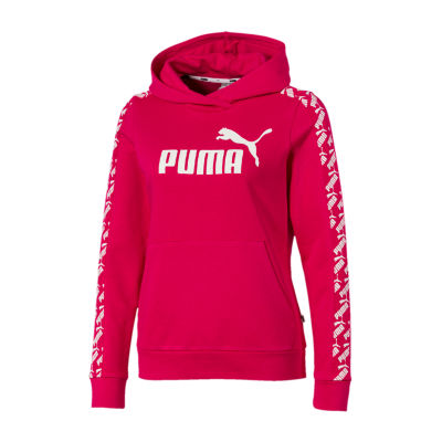 Puma Amplified Womens Round Neck Long Sleeve Hoodie