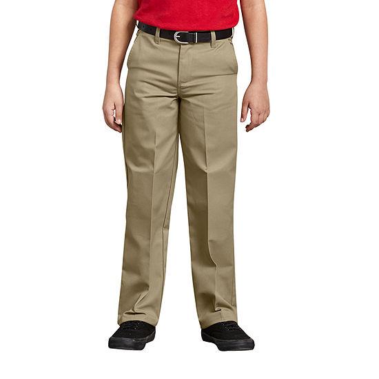 Dickies Big Boys Flat Front Pant