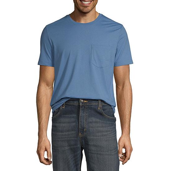 St. John's Bay Super Soft Mens Crew Neck Short Sleeve T-Shirt