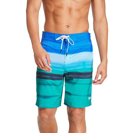 "Speedo Horizon Blend Bondi 9"" Board Shorts, Xx-large , Blue"