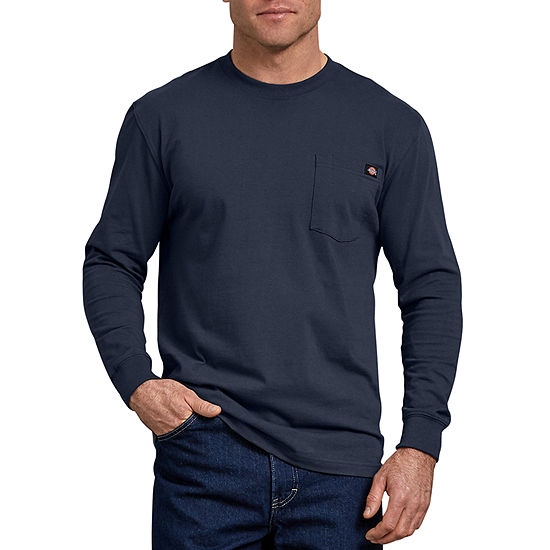 Dickies® Long Sleeve Heavyweight Crew Neck Tee - Big & Tall